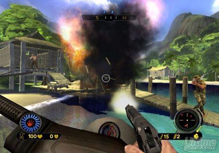 Dos nuevas imágenes de Far Cry Vengeance para Wii
