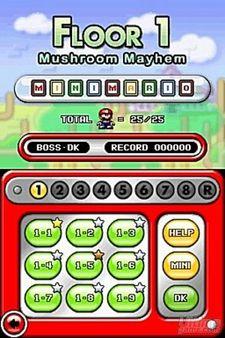 Más niveles para Mario Vs. Donkey Kong 2 - La marcha de los Minis