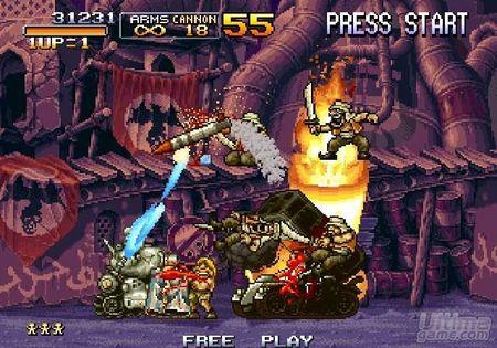 Metal Slug Anthology, también para PlayStation 2