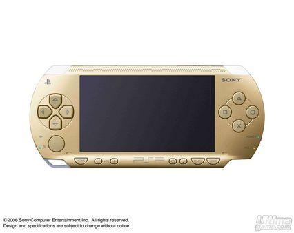Sony anuncia un nuevo modelo de PSP, de color oro champán que se pondrá a la venta con Monster Hunter Portable 2nd Hunters en Japón