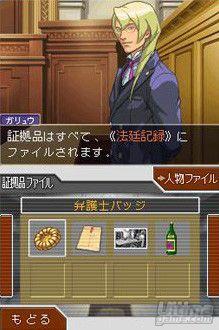 Nuevas capturas y detalles de Ace Attorney - Apollo Justice