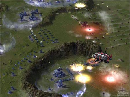 Nuevas imágenes de Supreme Commander