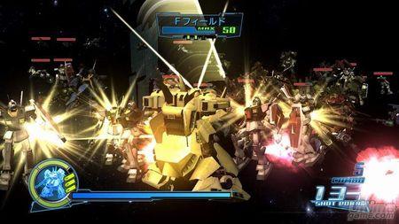 Una nueva galería de imágenes de Gundam Musou
