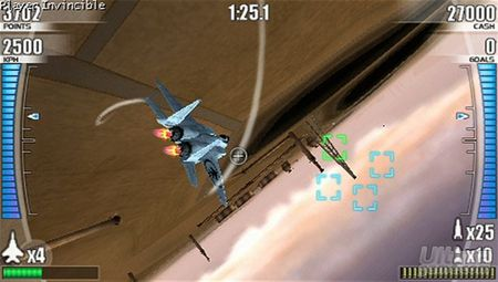 Conquista los cielos virtuales de PSP con After Burner: Black Falcon
