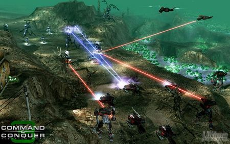 Los Scrin, la tercera facción que ansía el Tiberio en Command & Conquer 3 Tiberium Wars