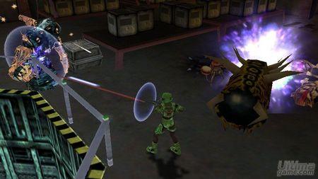 SEGA nos muestra más detalles de Alien Syndrome en PSP