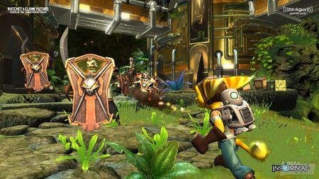 Nuevas capturas de Ratchet & Clank Future - Tools of Destruction