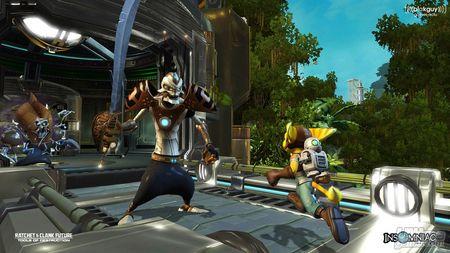 Nuevas capturas de Ratchet & Clank Future - Tools of Destruction