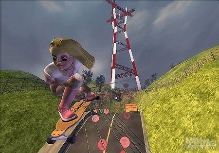 Nuevas imágenes y detalles de la versión PS2 de Tony Hawk Downhill Jam