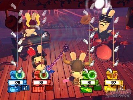 Nuevas capturas de Rayman Raving Rabbids 2 para Wii
