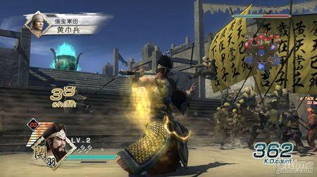 Koei nos muestra nuevas capturas de Dynasty Warriors 6