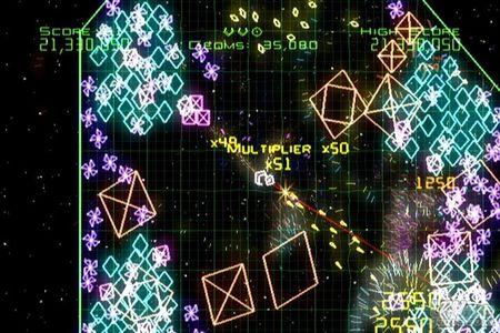 Nuevas imágenes y detalles de Geometry Wars para Wii
