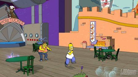 EA nos muestra nuevas imágenes de Los Simpsons, incluyendo un vistazo las versiones de DS y Wii