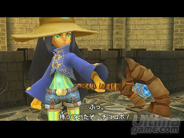 Chocobo Dungeon Wii ya tiene fecha de salida en USA