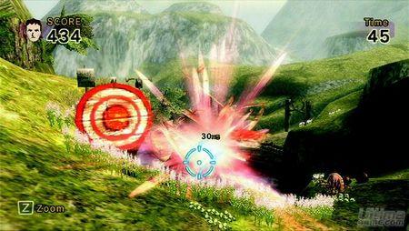 Otro nuevo vistazo a Links Crossbow Training, el título que acompañará a Wii Zapper