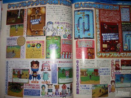 AWAY - Shuffle Dungeon. Un ejemplo más de cómo se enriquece un RPG con las posibilidades únicas de DS...