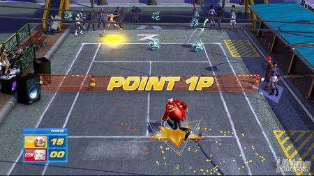 SEGA Superstar Tennis, al descubierto con una nueva tanda de capturas