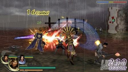 Nuevas imágenes de Warriors Orochi para PSP, el hack