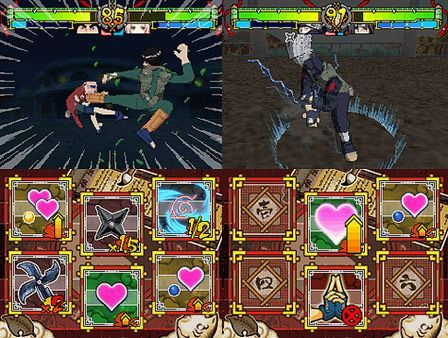 Naruto - Ninja Destiny. La luchas de tus personajes favoritos inundan tu DS, esta vez en 3D