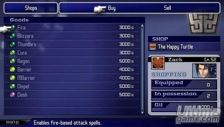 Edición especial europea para Crisis Core - Final Fantasy VII