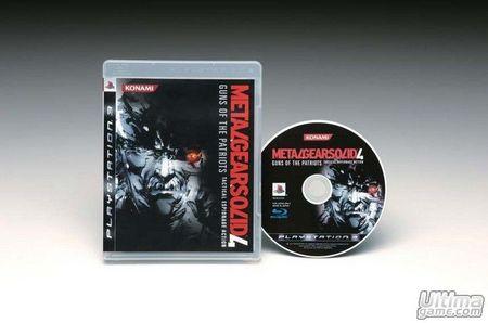 Konami nos desvela cómo será la edición especial de Metal Gear Solid 4 - Guns of the Patriots