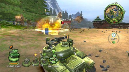 Nuevos detalles y capturas de Battalion Wars 2