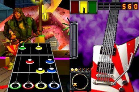 Descubre la apariencia de Guitar Hero On Tour de Nintendo DS