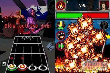 Guitar Hero On Tour vestirá a DS con su look más salvaje.