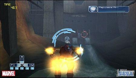 SEGA nos muestra cómo es Iron Man en Nintendo DS, PSP y Wii