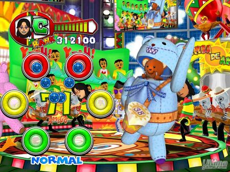 Necesitaremos 2 wiimandos para jugar a Samba de Amigo