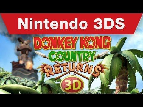Nintendo nos muestra las claves de Donkey Kong Country Returns 3D con un nuevo tráiler