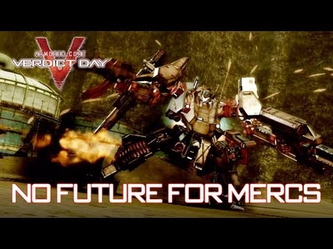 No hay futuro para los mercenarios, un nuevo y espectacular vídeo de Armored Core: Verdict Day - Noticia para Armored Core V: Verdict Day