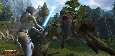 Star Wars : The Old Republic muestra su potencial en vídeo