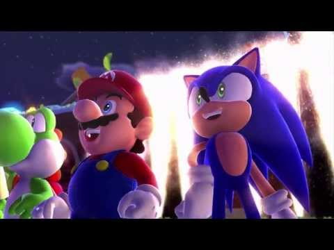 Los Miis, protagonistas de la ceremonia de inauguración de Mario y Sonic en los Juegos Olímpicos de Invierno Sochi 2014