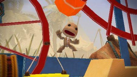 LittleBigPlanet Portable: Sackboy muestra su cara más simpática en PSP