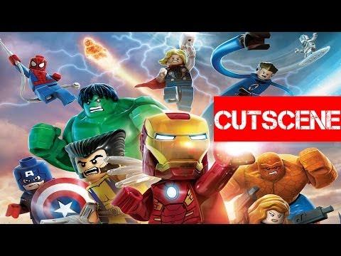 La versión de Nintendo 3DS de LEGO Marvel Super Heroes: Universe in Peril, en vídeo