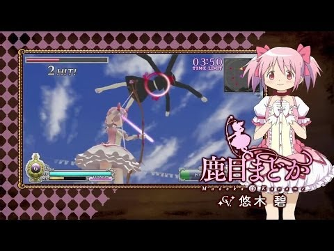 Más de 12 minutos de juego de Madoka Magica: The Battle Pentagram