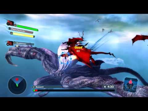 Crimson Dragon se actualiza con un multijugador y un nuevo nivel de dificultad