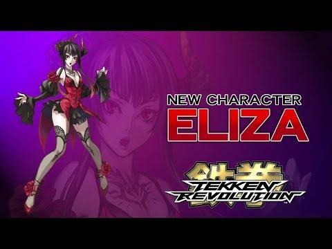 Eliza, la vampiresa de Tekken Revolution, nos muestra sus mejores golpes en vídeo