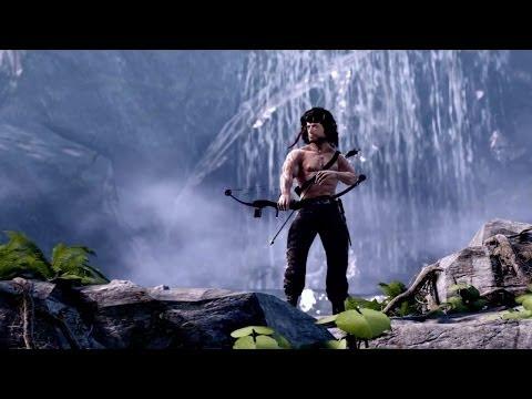 Confirmado el lanzamiento en Europa y el primer DLC de Rambo: The Videogame
