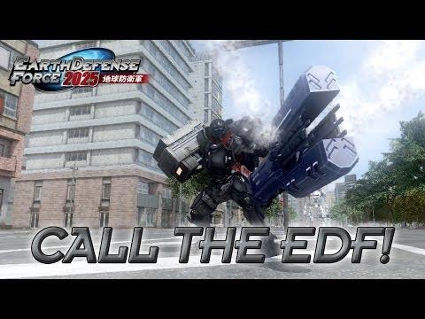 Los insectos gigantes invaden el planeta en el tráiler de lanzamiento de Earth Defense Force 2025