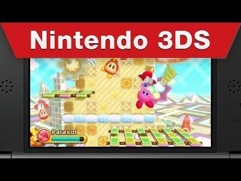 La estrella rosa de Nintendo exhibe sus poderes en Kirby: Triple Deluxe