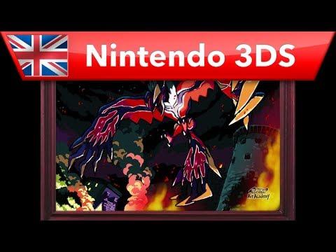 Xerneas, una de las estrellas de Pokémon Art Academy
