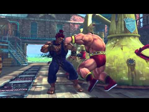 Ultra Street Fighter IV en PS4 con trajes espectaculares