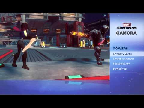 Drax el Destructor muestra sus habilidades en Disney Infinity 2.0