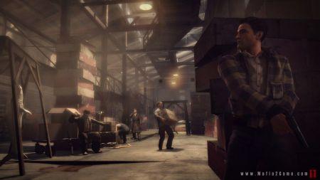 Mafia II - Variedad de armas y vehículos acompañan las espectaculares escenas de acción
