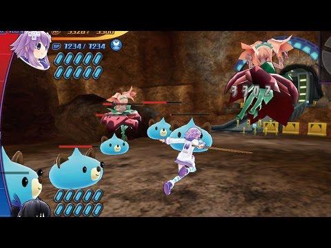 Un modo batalla 1 vs 1 de Hyperdimension Neptunia U: Action Unleashed