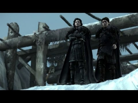 Del Norte del muro a más allá del Mar Angosto en Sons of Winter, cuarto capítulo de Game of Thrones: Iron from Ice