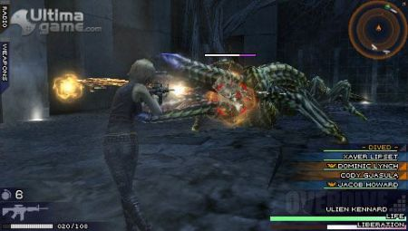 Parasite Eve 3: The 3rd Birthday - El sistema de combate y mejora genético - Noticia para The 3rd Birthday: Parasite Eve 3