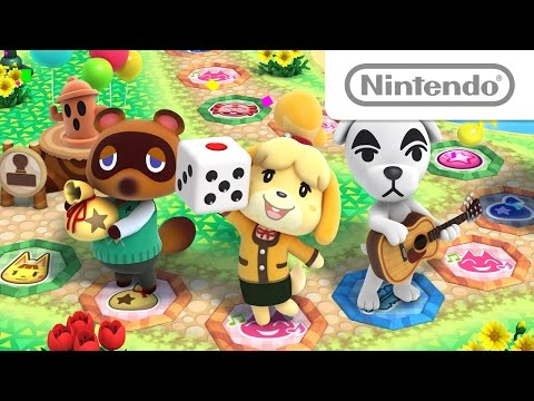 Cuatro tableros que evolucionan en Animal Crossing : Amiibo Festival